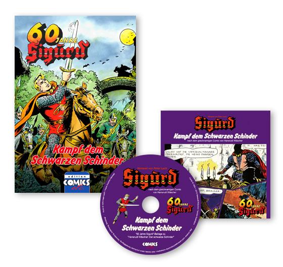 Sigurd 60_Jahre Book + CD